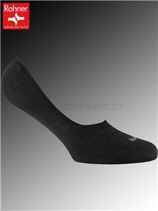 SNEAKER LOW Rohner Socken - 009 schwarz