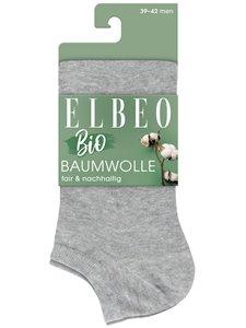 BIO BAUMWOLLE - Herren-Sneaker-Socken von Elbeo