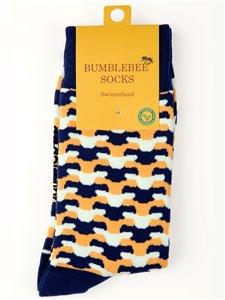 EAGLE WINGS - Bumblebee Socken für Damen und Herren