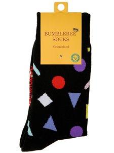 BITS AND PIECES - Bumblebee Socken mit geometrischen Mustern