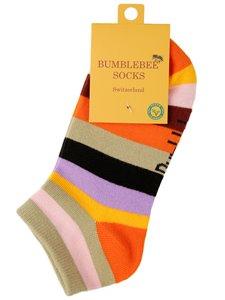 BRIGHT SUNSET - Kurze Bumblebee Socken für Damen und Herren