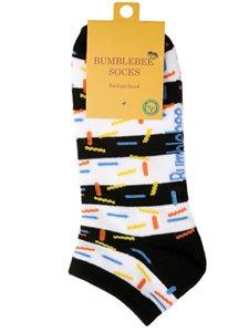 PARTY CRASHER - Bumblebee Sneaker Socken