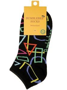 GEOMETRY PROFESSOR - Bumblebee Socken für Damen und Herren