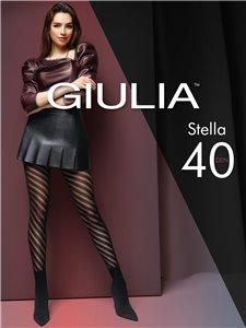 STELLA - Giulia Strumpfhose mit Spiralmuster