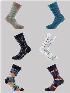 VINTAGE - Trendige Rohner Socken
