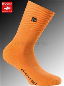 Rohner Socken ALLROUND LIGHT - 042 orange