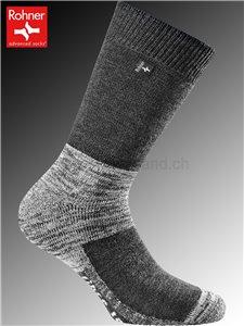 Rohner Socken FIBRE TECH - 123 schwarz denim