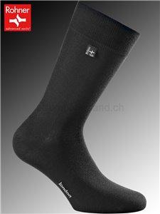 Rohner Socken LONDON - 009 schwarz