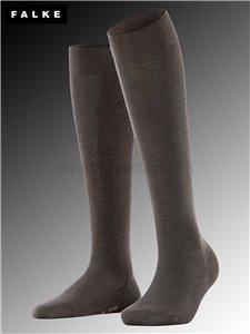 Kniesocken SOFT MERINO - 5239 dark brown