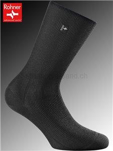 Rohner Socken PLATIN WOMEN - 009 schwarz