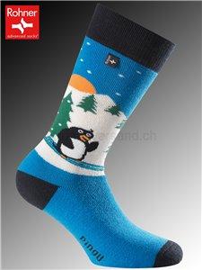 Rohner Socken PINGUIN - 186 hellblau