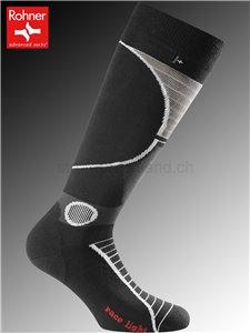 RACE LIGHT Rohner Socken - 009 schwarz