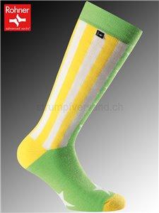 Rohner Socken AMERICAN - 228 gelb/grün