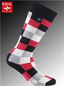 CAROLINA Rohner Socken - 157 rot