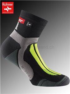 Rohner Socken CROSS COUNTRY - 518 neon gelb