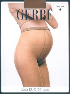 Gerbe DUO 20 - Schwangerschaftsstrumpfhose