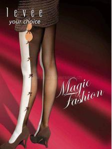 Fashion Bicolor - zweifarbige Strumpfhose